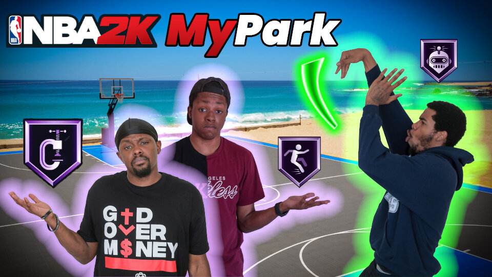 NBA 2K My Park
