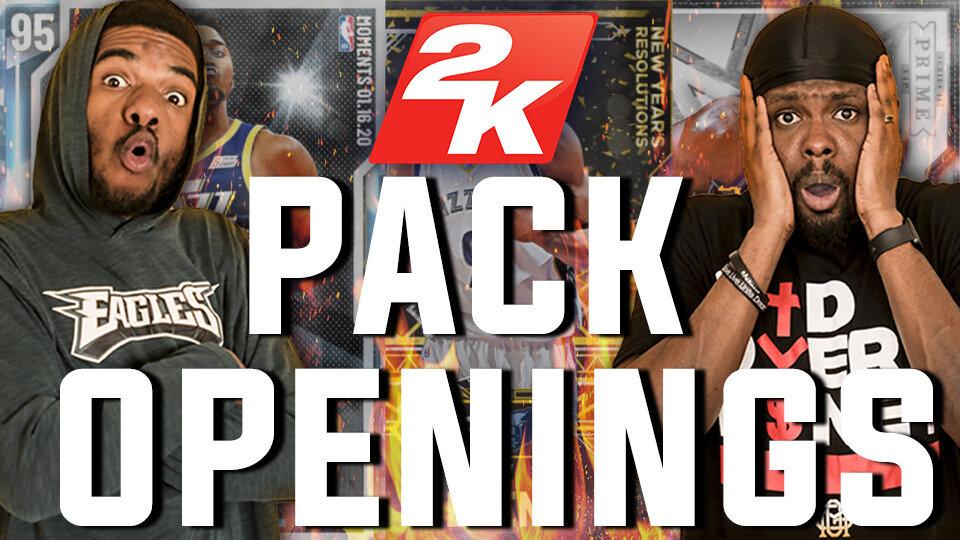 NBA 2K Pack Openings