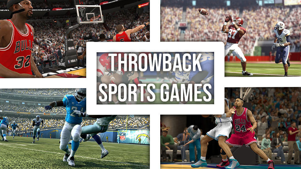 Throwback Sports Games