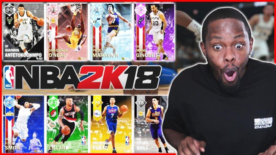 NBA 2K18 Pack Opening