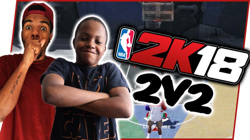 NBA 2K18 2V2 Gameplay