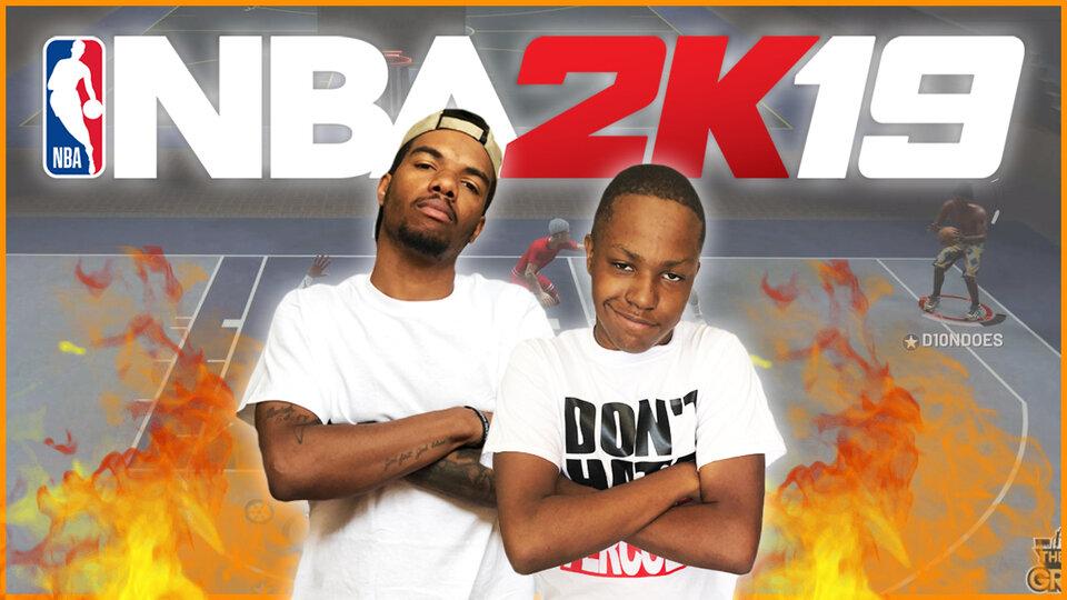 NBA 2K19 2v2 Gameplay