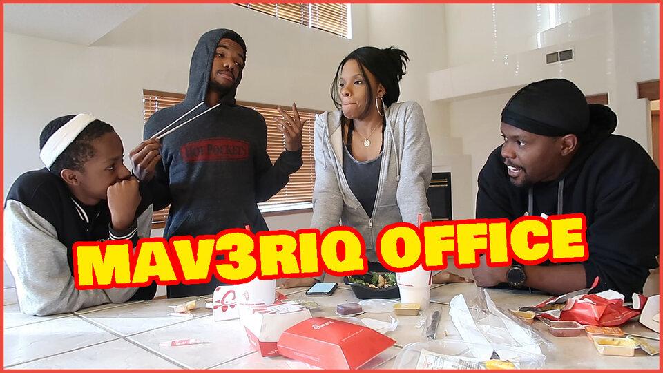 Mav3riq Office Vlog